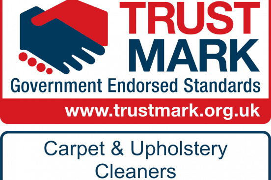 Logo badge for the Trustmark Carpet & Upholstery Cleaners Sheffield Clean and Dry