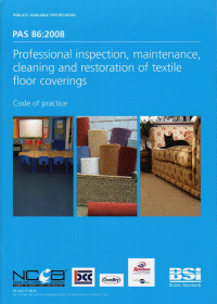 PAS86 Carpet Cleaning Standard Sheffield Clean & Dry