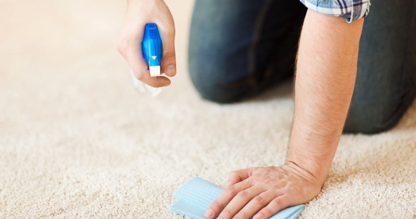 How to Get Yellow Stains Out of Your Carpet